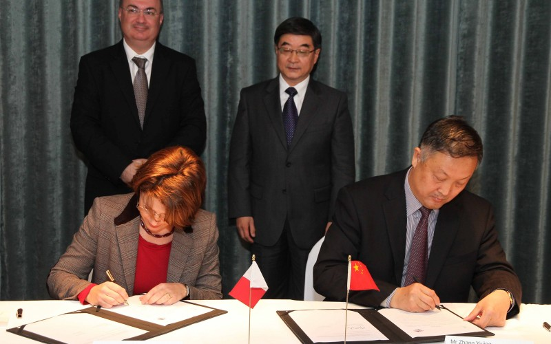 ME signs MOU with China's largest machinery and electronics Chamber